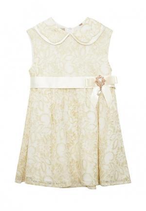 Платье Смена. Цвет: золотой