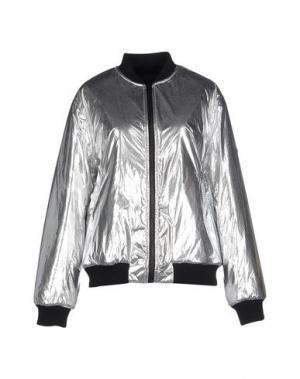 Куртка AMERICAN RETRO. Цвет: серебристый