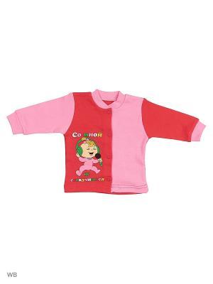 Кофта для новорожденных Bonito kids. Цвет: малиновый, розовый