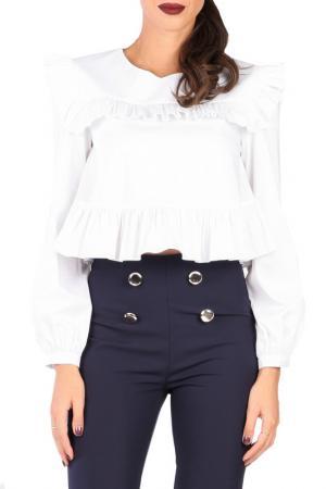 Блуза CARLA BY ROZARANCIO. Цвет: белый