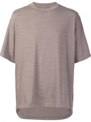 Свободная футболка 321. Цвет: серый
