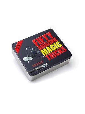 Набор фокусов 50 величайших карточных от Marvins Magic. Цвет: желтый, черный, розовый