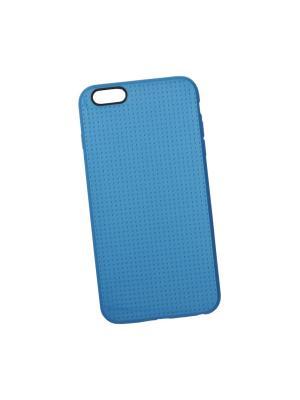Силиконовый чехол LP для iPhone 6/6s Plus мелкая точка (синий/коробка) Liberty Project. Цвет: синий