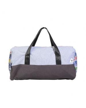 Дорожная сумка LE COQ SPORTIF. Цвет: светло-серый