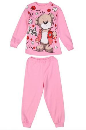 Пижама M&D. Цвет: розовый