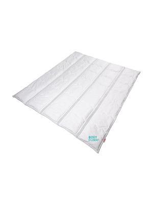 Одеяло BODY CLIMAT LINE (Евро)  200*220 см. SLEEP FITNESS. Цвет: белый