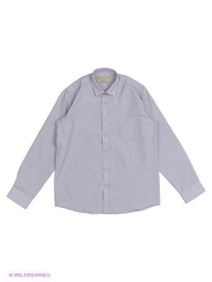 Рубашка Tsarevich. Цвет: светло-серый