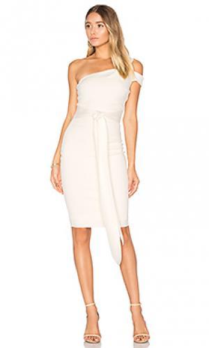 Платье миди ellette BEC&BRIDGE. Цвет: белый