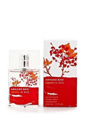 Happy In Red lady, Туалетная вода, 50 мл Armand Basi. Цвет: белый, красный