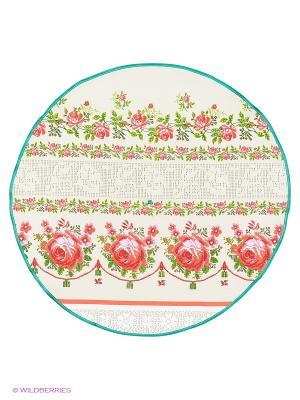 Полотенце круглое Метиз. Цвет: белый