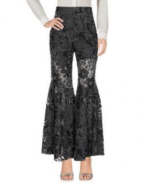 Повседневные брюки YOHANIX. Цвет: стальной серый