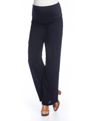 Свободные брюки Queen Mum. Цвет: черный