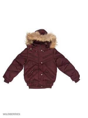 Куртка Devance. Цвет: бордовый