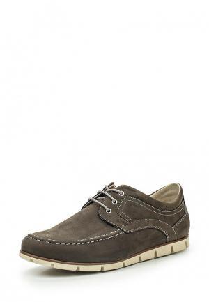 Туфли Bekerandmiller. Цвет: коричневый