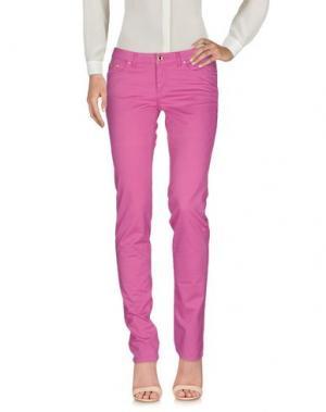 Повседневные брюки EAN 13. Цвет: фуксия