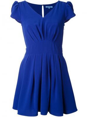 Расклешенное платье Guild Prime. Цвет: синий