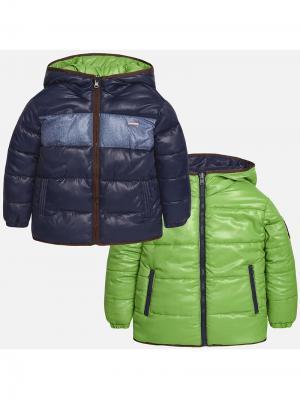 Куртка-трансформер Mayoral. Цвет: зеленый