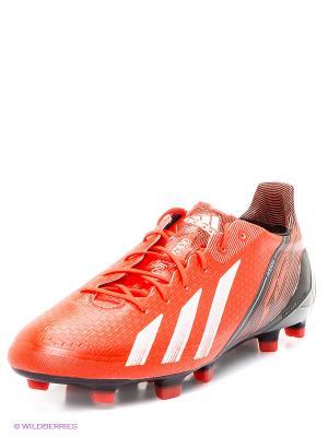 Бутсы adizero F50 Adidas. Цвет: коралловый