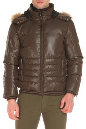 Куртка CNC COSTUME NATIONAL C'N'C'. Цвет: коричневый