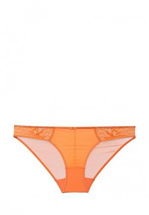 Трусы Dita Von Teese. Цвет: оранжевый