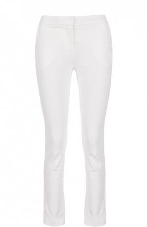 Облегающие брюки с боковыми карманами Diane Von Furstenberg. Цвет: белый