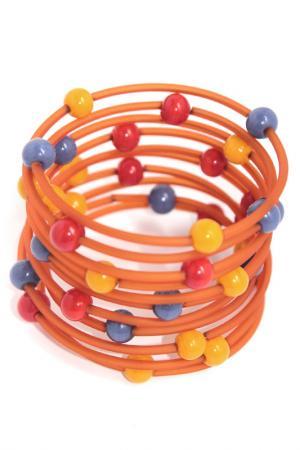 Браслет-спираль Divetro. Цвет: синий, красный, оранжевый