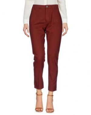 Повседневные брюки SUPERFINE. Цвет: коричневый
