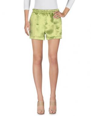Повседневные шорты JIJIL. Цвет: светло-зеленый