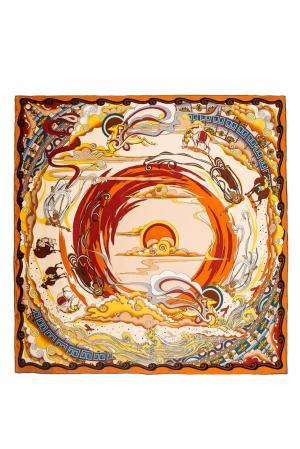Шелковый платок 183384 Moltini. Цвет: разноцветный