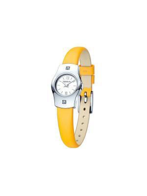 Часы ювелирные коллекция Why not SOKOLOV. Цвет: оранжевый, белый