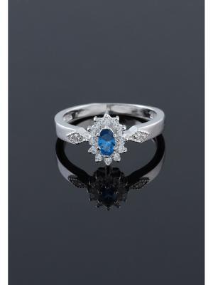 Кольцо Migura. Цвет: серебристый, синий