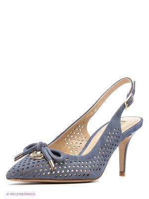 Туфли Vitacci. Цвет: серо-голубой