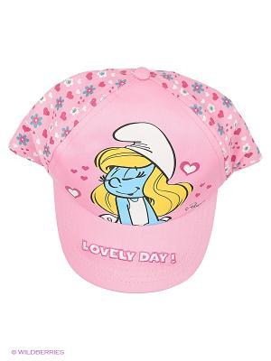 Бейсболка The Smurfs. Цвет: розовый