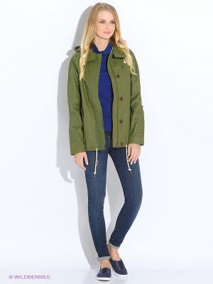 Куртка Fred Perry. Цвет: зеленый
