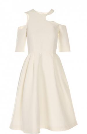 Платье Tata Naka. Цвет: кремовый