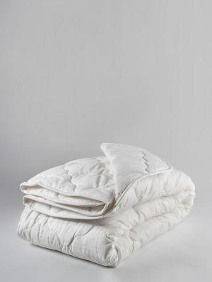 Одеяло Бамбук Микрофибра ТекСтиль. Цвет: белый