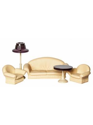 Набор мягкой мебели для гостиной Коллекция Огонек. Цвет: бежевый