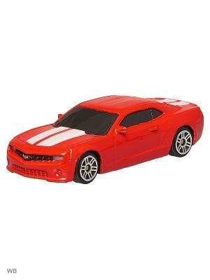 Машинка Chevrolet Camaro, Красная (1:64) (PS-344004S-R) Pit Stop. Цвет: красный