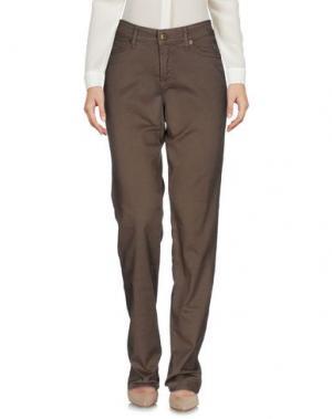Повседневные брюки CAMBIO. Цвет: хаки