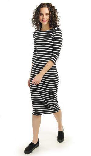 Платье 42 ТВОЕ. Цвет: черный