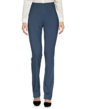Повседневные брюки EMMA&GAIA. Цвет: свинцово-серый