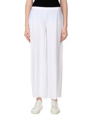 Повседневные брюки ALMERIA. Цвет: белый