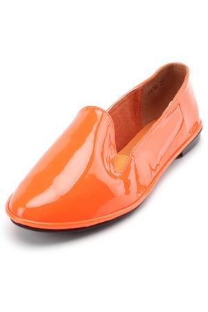 Балетки Brucco. Цвет: оранжевый