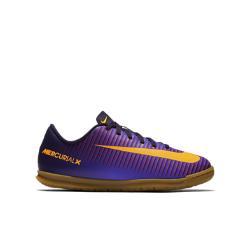 Футбольные бутсы для игры в зале школьников  Jr. Mercurial Vortex III (1Y–6Y) Nike. Цвет: пурпурный