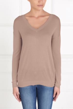Пуловер из шелка и хлопка MYONE. Цвет: none