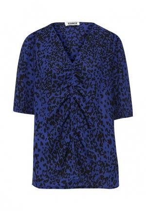Блуза Sonia by Rykiel. Цвет: синий
