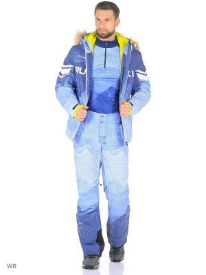 Куртка Stayer. Цвет: темно-синий, белый, голубой, горчичный, синий
