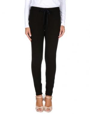 Повседневные брюки ZHELDA. Цвет: темно-коричневый