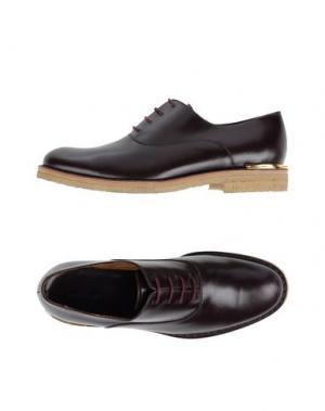 Обувь на шнурках MARC JACOBS. Цвет: баклажанный