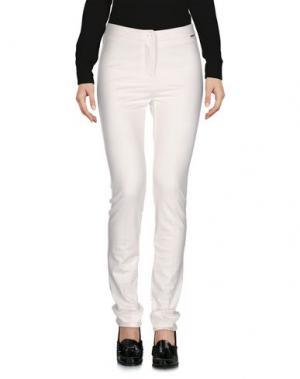Повседневные брюки CARLA MONTANARINI. Цвет: белый